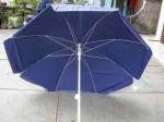 SURVEYING UMBRELLA PVC BLUE