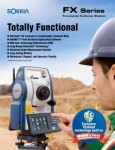 Total Station FX Series FX101/FX102/FX103/FX105/FX107